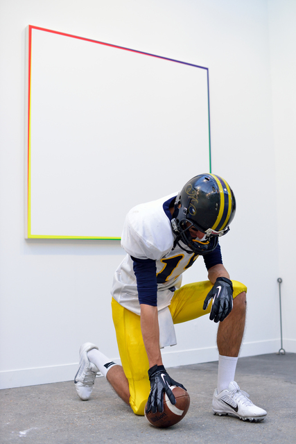 , 'Character to Be Reactivated (Football Player, Mousquetaire),' 2013, Air de Paris