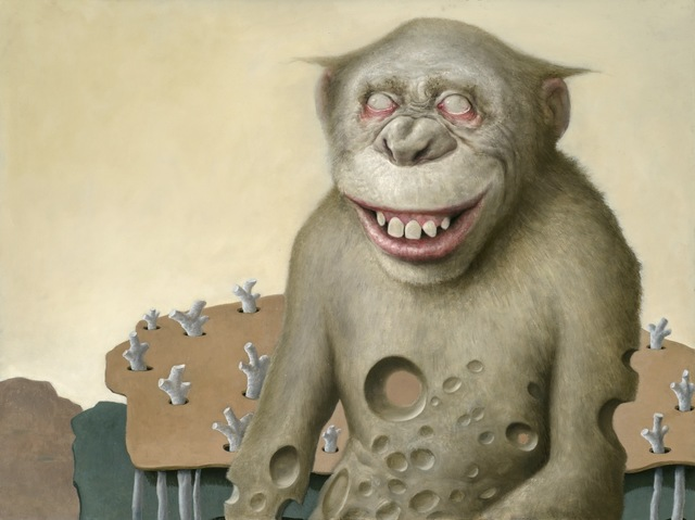 , 'Cheesy Chimp,' 2019, The Secret Gallery
