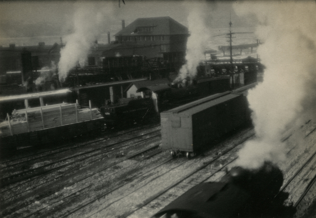 , 'New York Rail Yard,' 1922, Rick Wester Fine Art