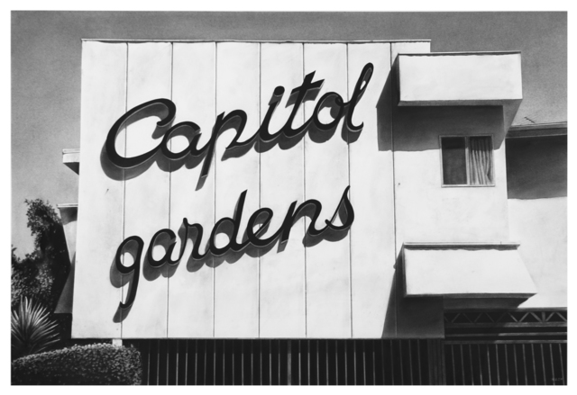 Eric Nash, 'Capitol Gardens', 2021, Drawing, Collage or other Work on Paper, Charcoal on paper, KP Projects