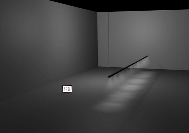 , '17:40 - 18:40,' , Galerie Lisi Hämmerle