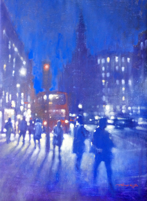 , 'Strand Night,' , London Contemporary Art / Store Street Gallery