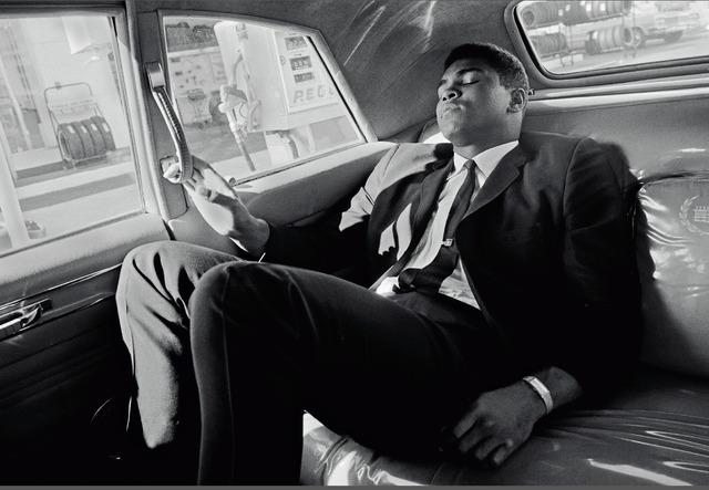 , 'Muhammad Ali tours in a limousine,' 1966, Galeria de Babel