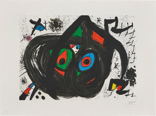 Joan Miró, 'Untitled, plate 5 from Homenatge à Joan Prats (Tribute to Joan Prats)', 1971, Phillips