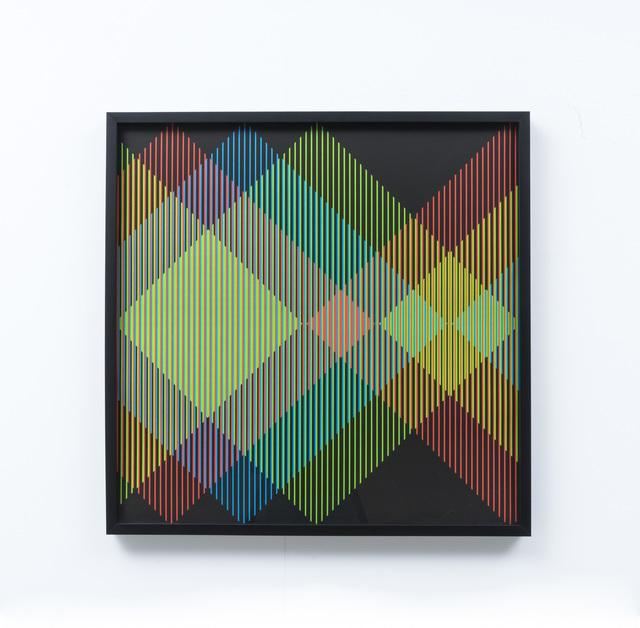 Carlos Cruz-Diez, 'couleur additive (additive color)', 2013, Print, Lithograph on paper, Galeria Raquel Arnaud