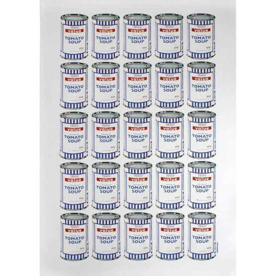 Banksy, 'Tesco Soup Cans', 2010, The Drang Gallery