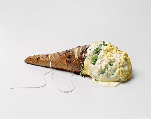 , 'Giant Ice Cream Cone, Lying,' 2019, Yancey Richardson Gallery