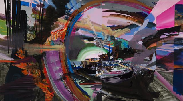 , 'Burst,' 2016, Galleri Urbane