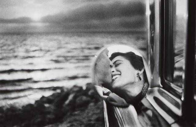 Elliott Erwitt, 'California Kiss, Santa Monica', 1955-printed later, Phillips
