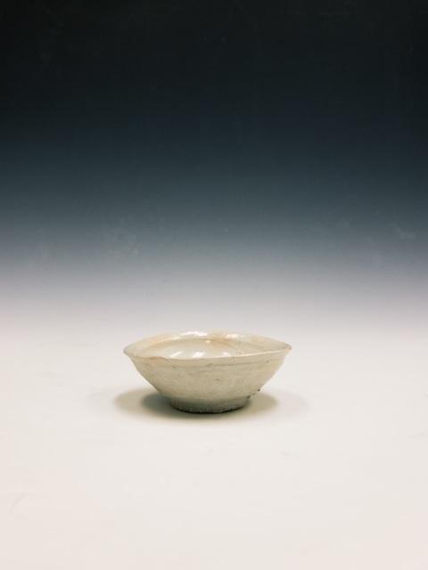 , '磁土ひら盆, Sake-Cup (Poplin ,' 2000-2016, Kamiya Art