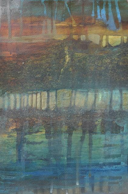 , 'Reflection, Rouffiac,' 2018, Little Buckland Gallery