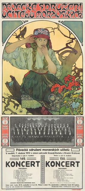 , 'Moravian Teachers' Choir (Pevecké Sdruzení Ucitelu Moravskych),' 1911, Rennert's Gallery