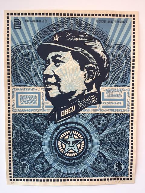 Shepard Fairey (OBEY), 'Mao Money', 2003, Gregg Shienbaum Fine Art