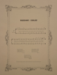 Notes on Social Justice: Freedom's Jubilee! (1865)