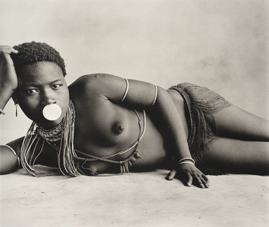 , 'Girl with Nose Disc, Cameroon,' 1969, Bernheimer Fine Art