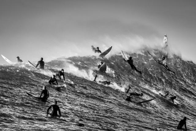 Dina Litovsky, 'Untitled (surfers at Maverick's)', 2018, Anastasia Photo