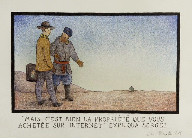 """, '""""Mais C'est Bien La Propriete Que Vous Achetee Sur Internet"""" Expliqua Sergei,' 2015, Flowers"""