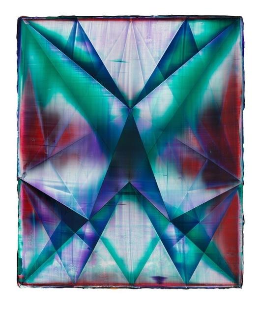 , 'Rhombus (Bleed),' 2013, Jessica Silverman Gallery