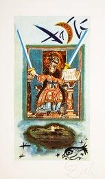 Two of swords, Lyle Stuart Tarot Prints