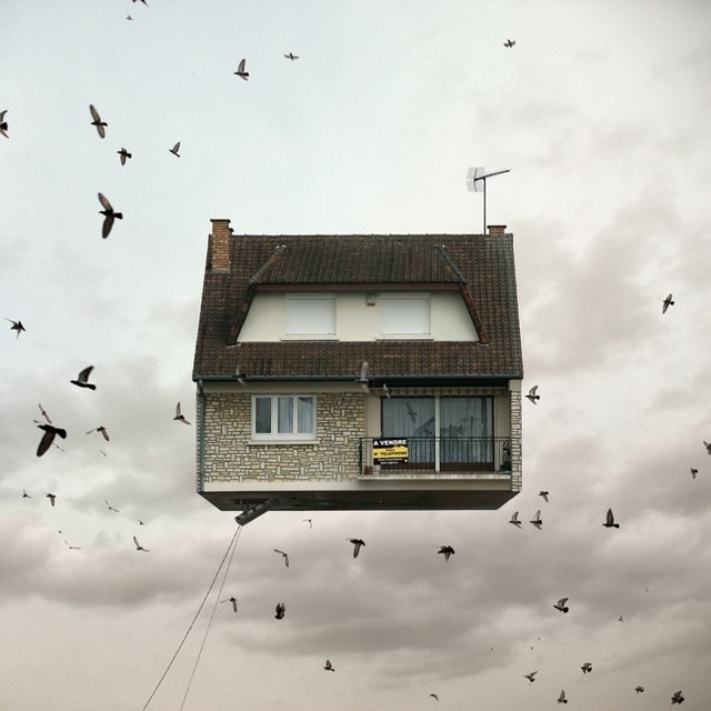 , 'Flying Houses #3,' 2012, Galeria Lume