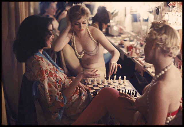 , 'Showgirls Play Chess Backstage at the Latin Quarter Nightclub (70.048),' 1958, Robert Klein Gallery