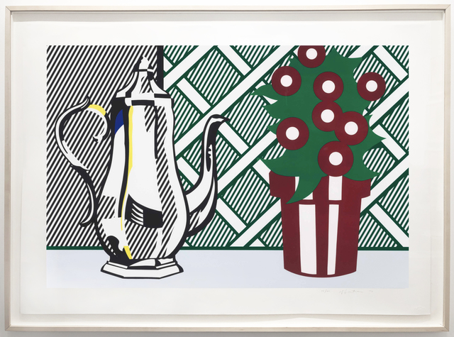 Roy Lichtenstein, 'Still Life with Pitcher and Flowers', 1974, Leslie Feely