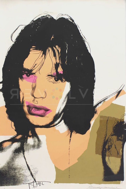 Andy Warhol, 'Mick Jagger (FS II.141)', 1975, Revolver Gallery