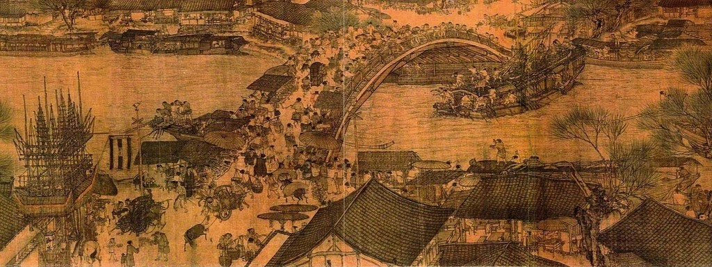 Spring Festival on the River (also called Along the River During Qingming Festival), Northern Song dynasty