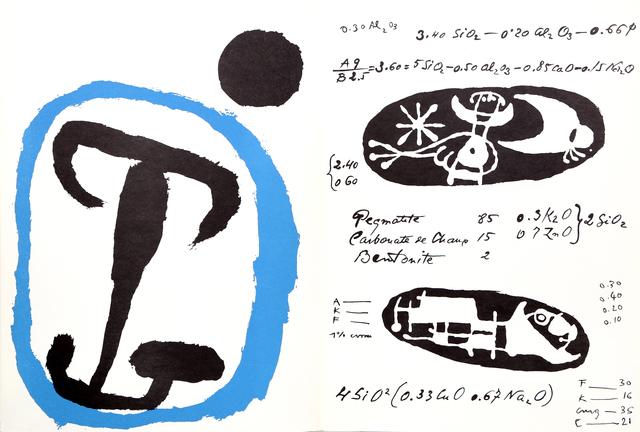 Joan Miró, 'La Quimica from Derrière le Miroir ', 1956, RoGallery