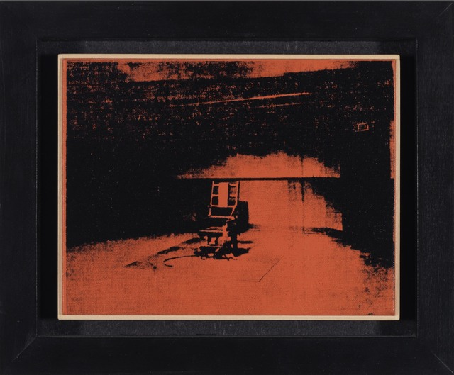 , 'Andy Warhol - 'Orange Electric Chair' 1964,' 1996, Galerie Mitterrand