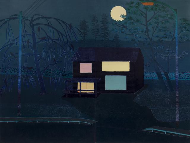 , 'Outskirts (Night),' 2015, Sladers Yard