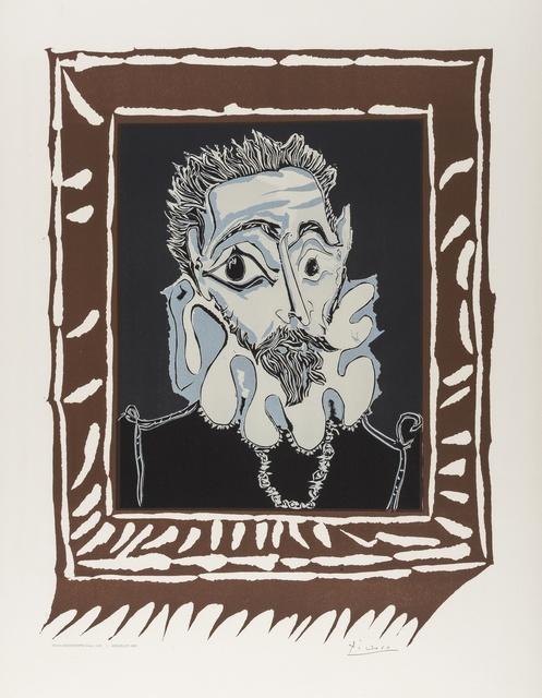 Pablo Picasso, 'L'Homme à la Fraise (CZW.448)', 1973, Print, Lithographic poster printed in colours, Forum Auctions