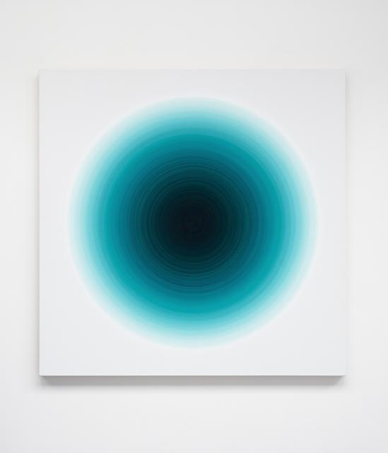 , 'Cobalt Turquoise Green Harmonic,' 2016, Galería Hilario Galguera