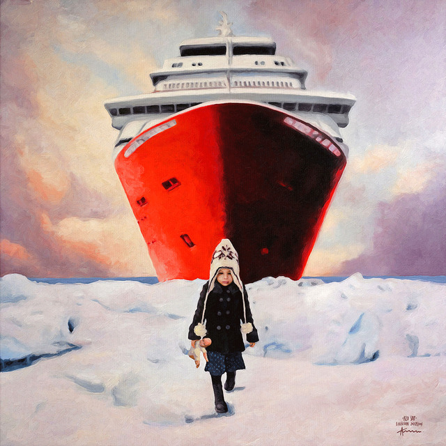 Algis Krisciunas, 'The Red Ship', 2015, nobig.art