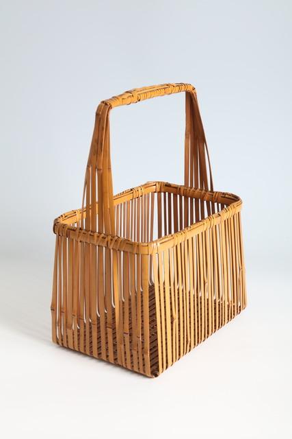 Kosuge Kōgetsu, 'Rectangular Basket (T-4287)', Showa era (1926, 1989), 1970s, Design/Decorative Art, Bamboo, Thomsen Gallery