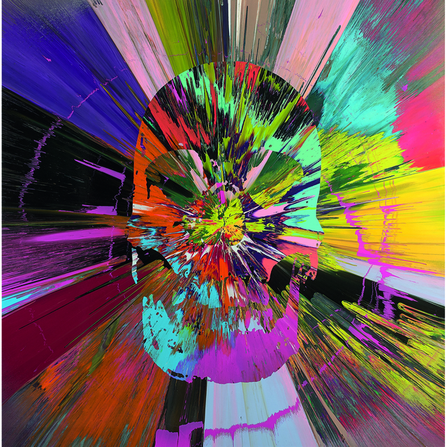 Damien Hirst, 'Beautiful Apocatequil narcissism painting', 2012, PIASA