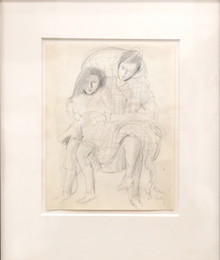 Untitled (Two Sitters)