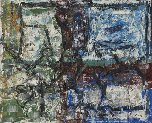 Jean-Paul Riopelle, 'À l'Ombre', 1977, Painting, Oil on canvas, Acquavella Galleries