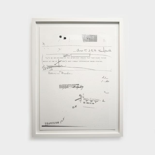 , 'Dunham Orgy,' 2019, Contemporary Art Gallery
