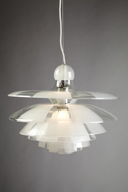 ", 'Ceiling lamp ""Septima 5"",' 1929, Modernity"