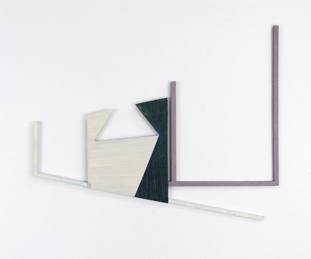Jonathan Runcio, 'Untitled (JR01-17)', 2017, Painting, Oil on steel, Romer Young Gallery