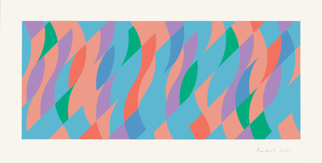 Bridget Riley, 'From One to the Other', 2005, Print, Screenprint, Joanna Bryant & Julian Page