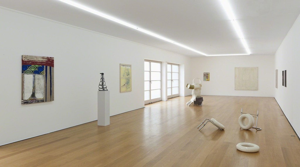 Installation view at Galerie Rüdiger Schöttle, 2017.