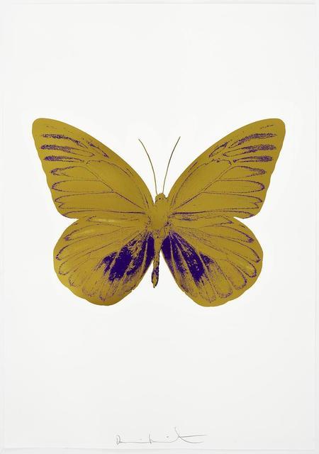 , 'The Souls I - Oriental Gold/Imperial Purple ,' 2010, Paul Stolper Gallery