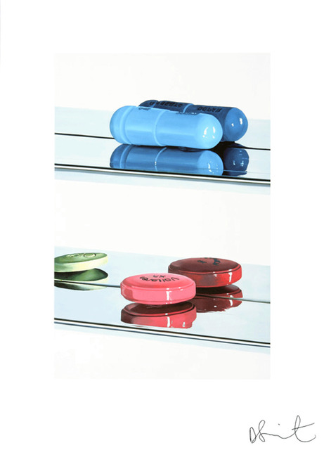 Damien Hirst, 'Two Pills (Small)', 2008, Gagosian