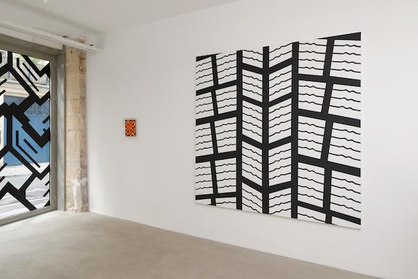 """Peter Stämpfli  Exhibition view """"Ligne continue"""" 28.04 - 27.05.2017 Galerie GP & N Vallois, Paris, France © Aurélien Mole"""