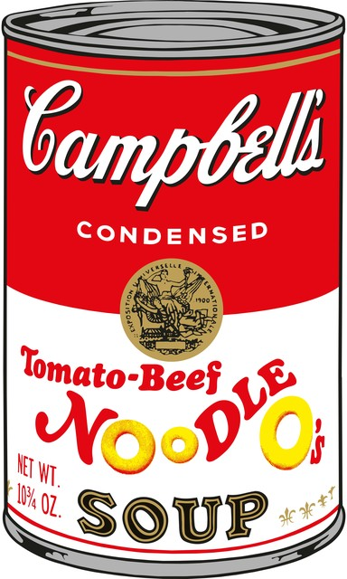 Sunday B. Morning, 'Soup Can (Tomato-Beef Noodle O's)', 2015, Puccio Fine Art