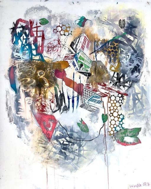 , 'Clattered,' 2018, ARTLabAfrica