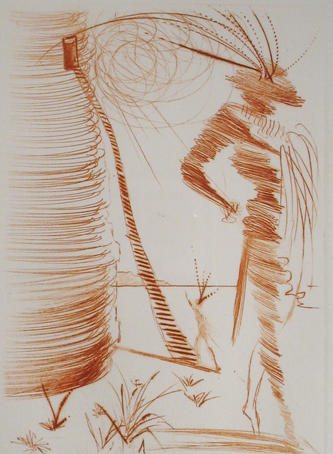 Salvador Dalí, 'Romeo and Juliet', 1968, Print, Drypoint engraving, DTR Modern Galleries