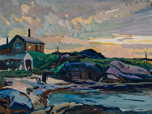 , 'Fisherman's Island, Boothbay, Maine,' ca. 1925, WOLFS